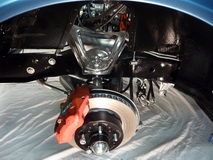 1974 Stingray Chevrolet Corvette Convertible 350 cui - suspension