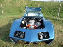 1974 Stingray Chevrolet Corvette Convertible 350 cui - body
