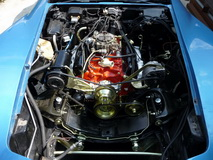 1974 Stingray Chevrolet Corvette Convertible 350 cui - engine