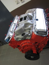1971 Chevrolet El Camino SS 454 cui - engine