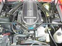 1967 Ford Mustang 289 cui - engine