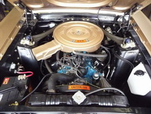 1968 Ford Mustang Convertible 289 cui - engine