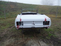 1969 Ford Mustang Convertible 351 cui Windsor - body