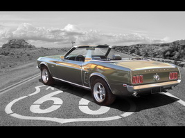 1969 Ford Mustang Convertible 351 cui Windsor - visualization