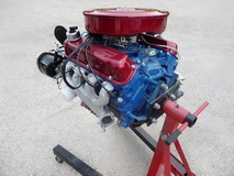 1969 Ford Mustang Convertible 351 cui Windsor - engine